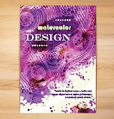 Poster Template with Watercolor Splash