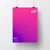 realistic poster vertical position with an