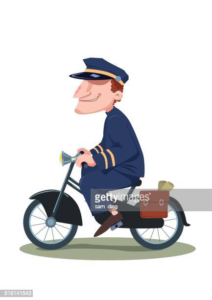 60 Top Postman Stock Illustrations, Clip art, Cartoons