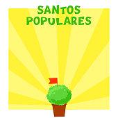 Postuguese Santos Populares banner