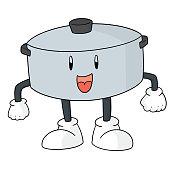 pot cartoon