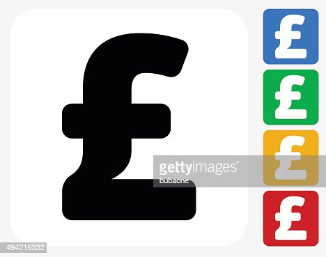 Pound Sign Icon Flat Graphic Design Vector Art Getty Images