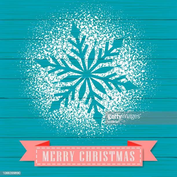 powdered sugar decorate a snowflake shape - home decor stock illustrations, clip art, cartoons, & icons