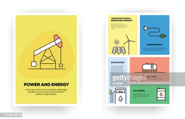Power and Energy Related Infographic
