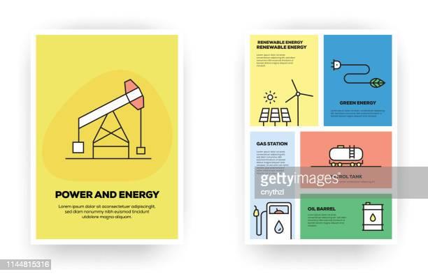 ilustraciones, imágenes clip art, dibujos animados e iconos de stock de infografía relacionada con el poder y la energía - fuerzas de la naturaleza