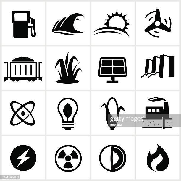 Iconos de combustible y generación de potencia