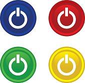 power button icon web