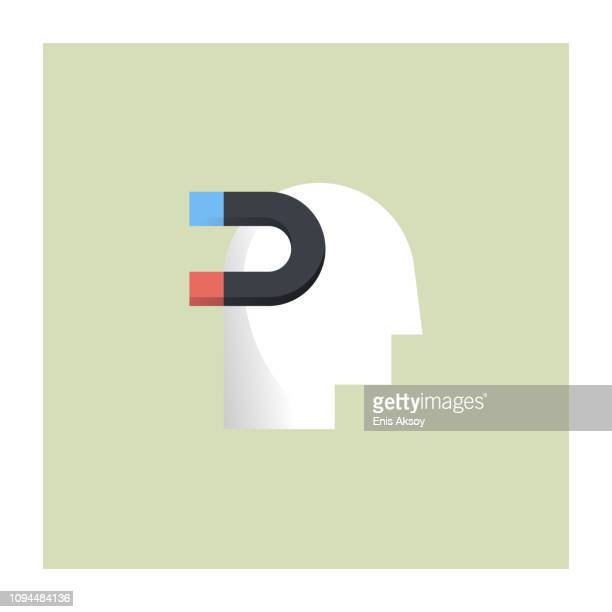 power of influence icon - pbs stock illustrations