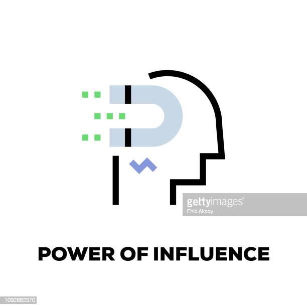 Power of Influence Line Icon