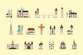 Prague historical building