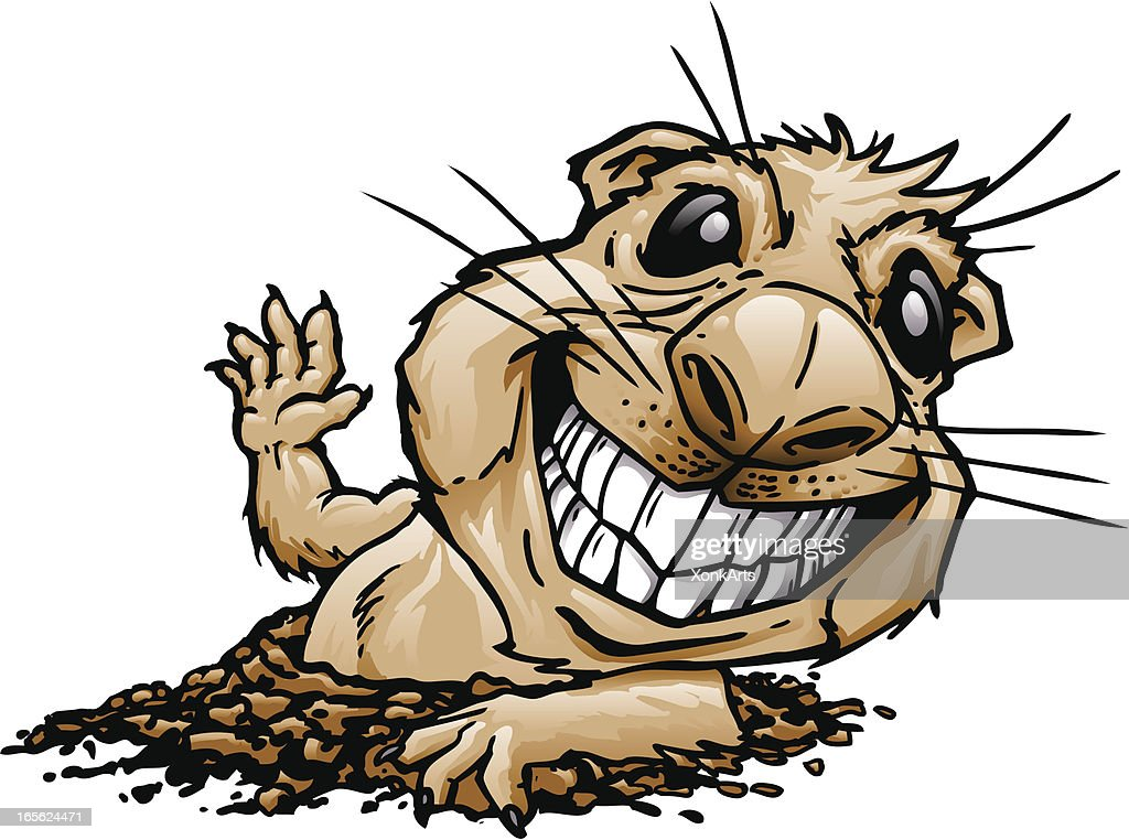 Prairie Dog Cartoon Character