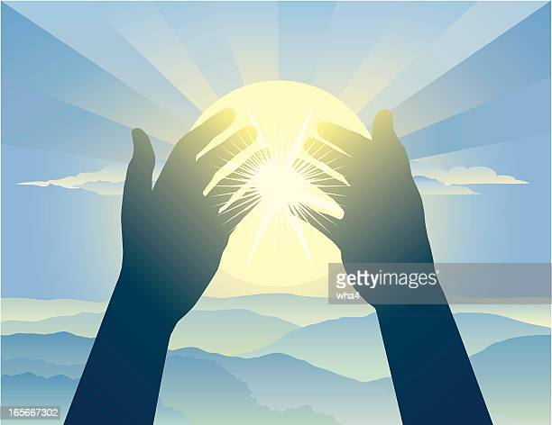 praying hands - applauding stock illustrations, clip art, cartoons, & icons