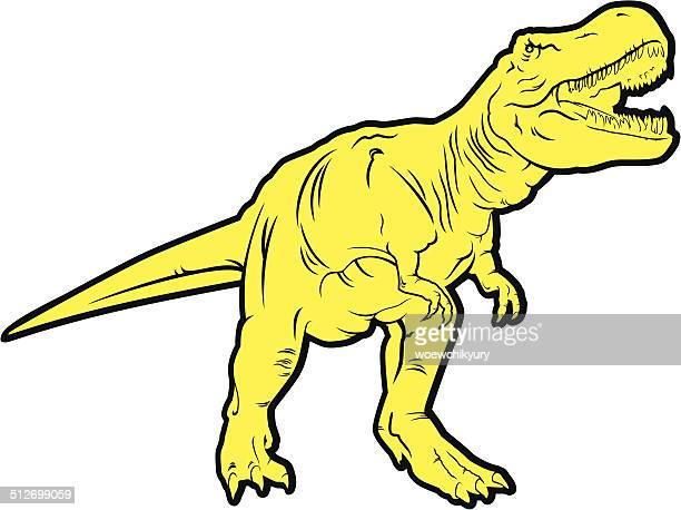 predatory dinosaur (Tyrannosaurus)
