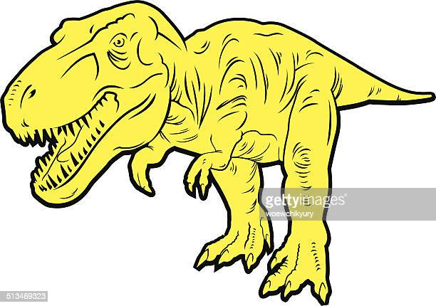 predatory Tyrannosaurus Rex Dinosaurier-()