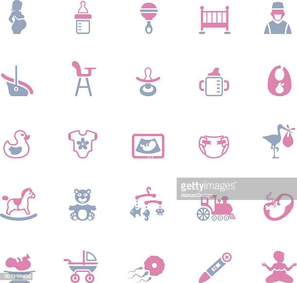 Pregnancy and Baby Icons