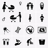 Free 27 Vector pregnant women PSD files, vectors