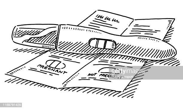 妊娠テスト図面 - 繁殖力点のイラスト素材/クリップアート素材/マンガ素材/アイコン素材