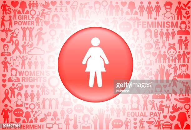 ilustraciones, imágenes clip art, dibujos animados e iconos de stock de mujer embarazada chica poder derechos de las mujeres fondo - obesidad infantil