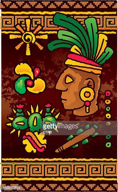 Prehispanic design elements
