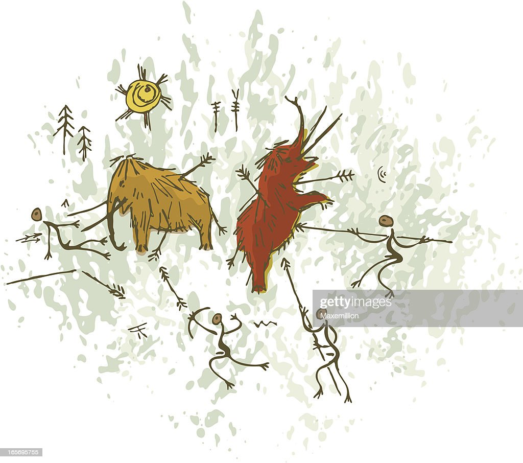 sympathetic magic to prehistoric art This type of magic was called sympathetic magic by all logic this is magic by coincidence however, to a caveman, if you said that you were going to cast a spell for a good hunt, and then the hunters came back with a bison, you had special power.