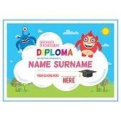 Preschool  certificate.