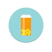 Prescription Bottle Icon