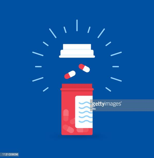 prescription drugs - recreational drug stock illustrations, clip art, cartoons, & icons