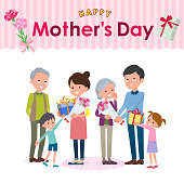 Present for loved ones_mother's Day family