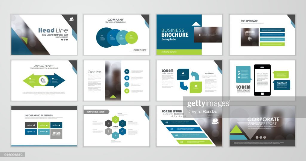 Presentation flyer set