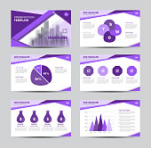Presentation template Infographic elements vector illustration for business, brochure flyer layout, advertisement