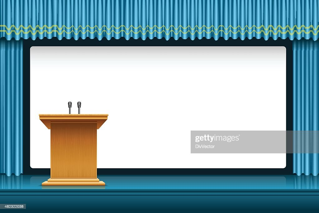 Presentation : stock illustration