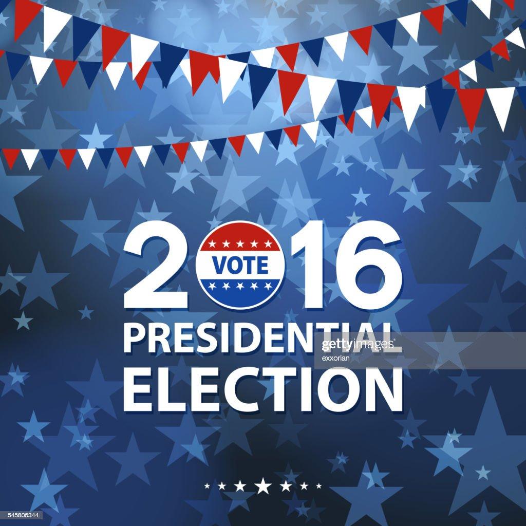 Presidential Election : Vector Art