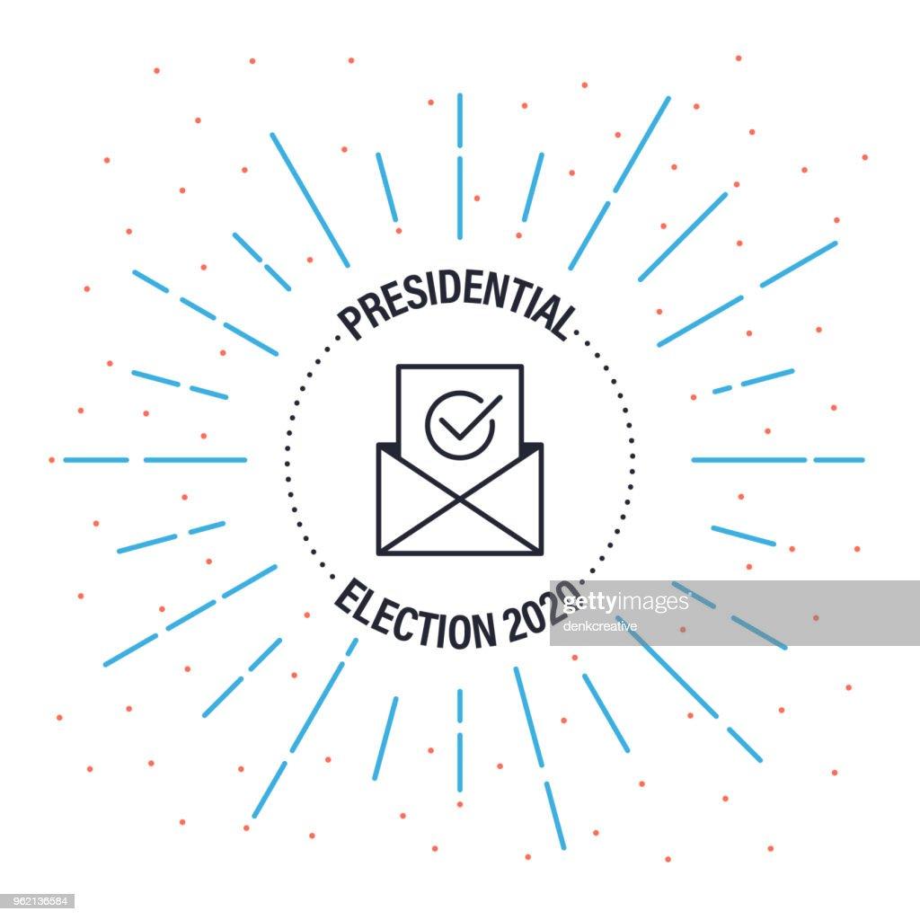 Presidential Label Badge