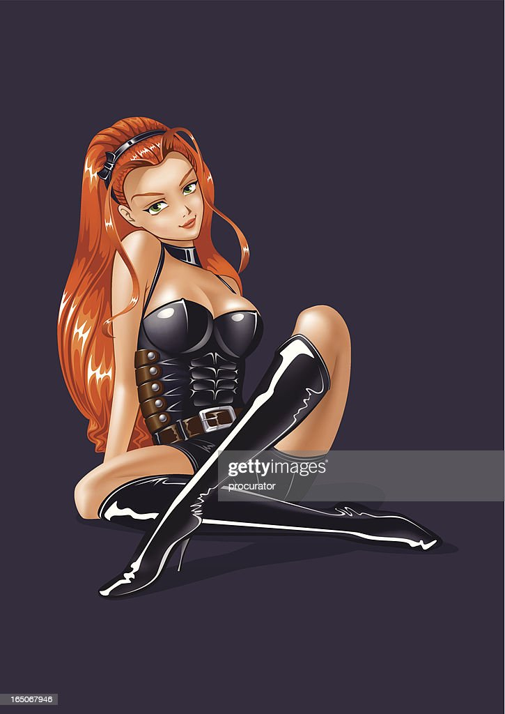 Pretty Women : stock illustration