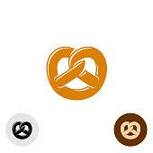 Pretzel bakery symbol