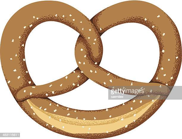 pretzel - pretzel stock illustrations, clip art, cartoons, & icons