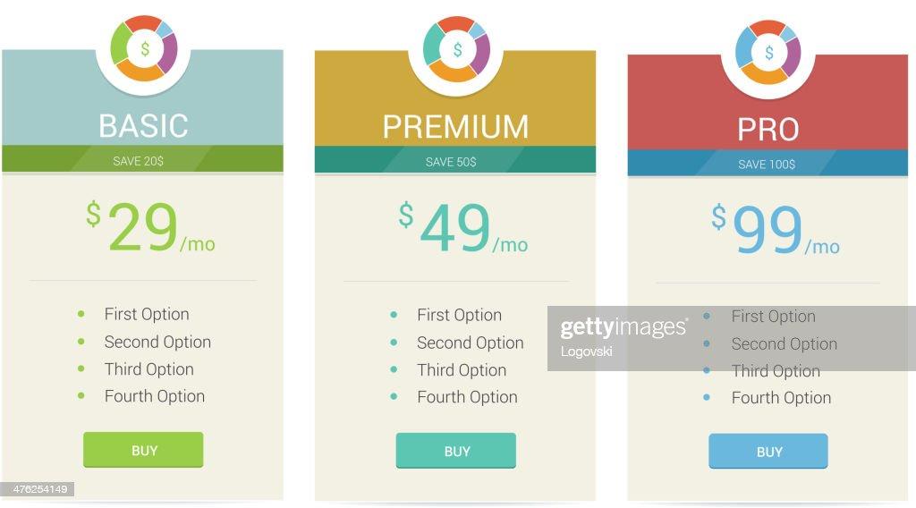 Price Labels : stock illustration