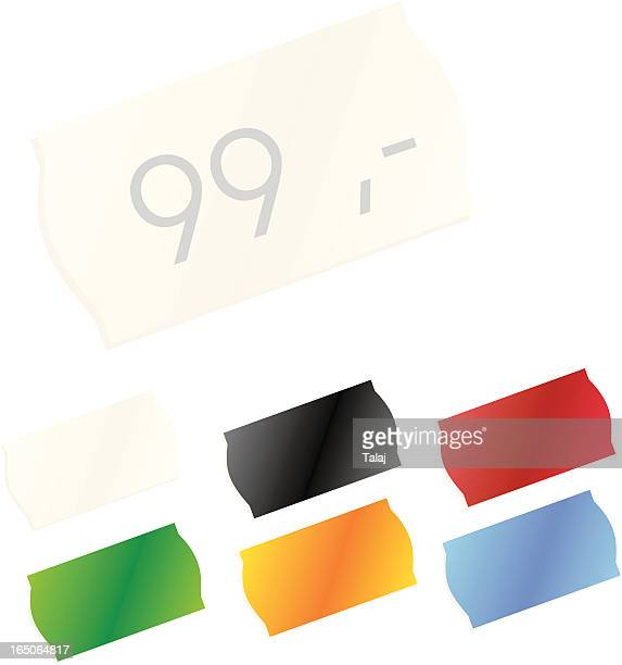 price tag - price tag stock illustrations, clip art, cartoons, & icons