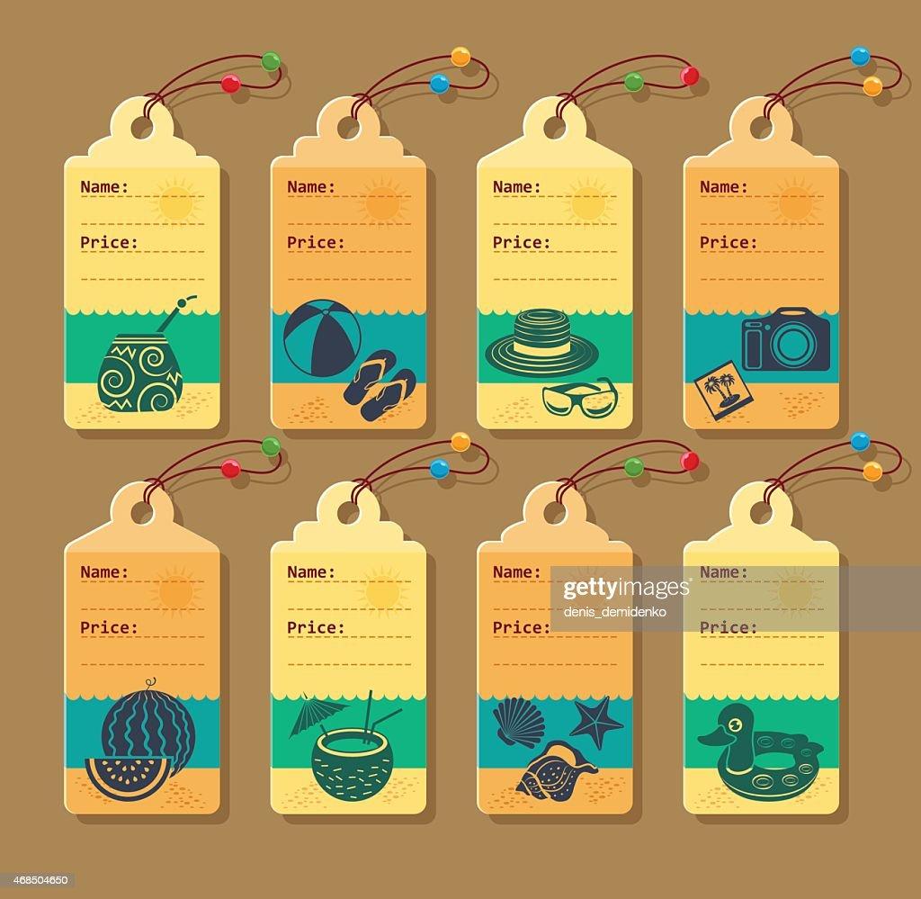 Price tag.