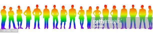 プライド月間の人々 - 結婚の平等点のイラスト素材/クリップアート素材/マンガ素材/アイコン素材