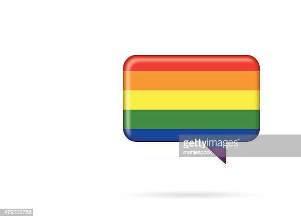 Pride speech symbol