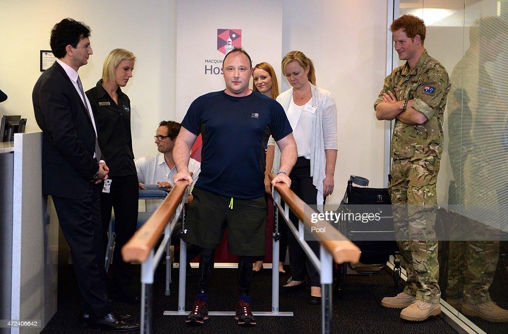 Prince Harry Visits Sydney : News Photo