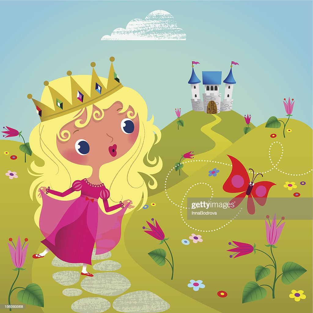 Princess and Butterfly.