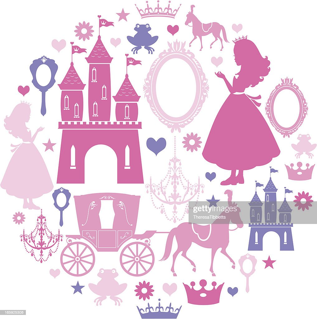 Princess Icon Set