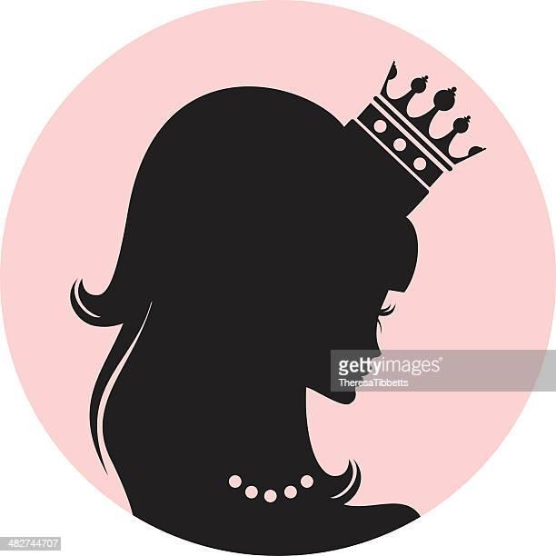 princess - tiara stock illustrations, clip art, cartoons, & icons