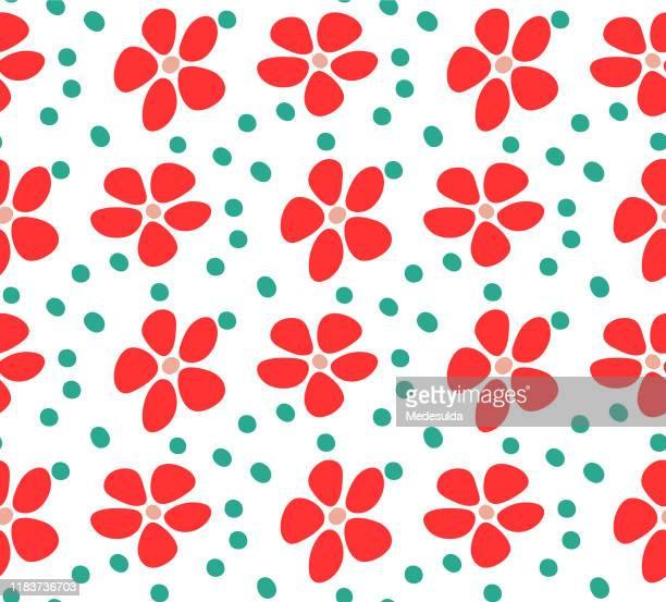 print dress - floral pattern dress stock illustrations