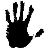 Print of hand