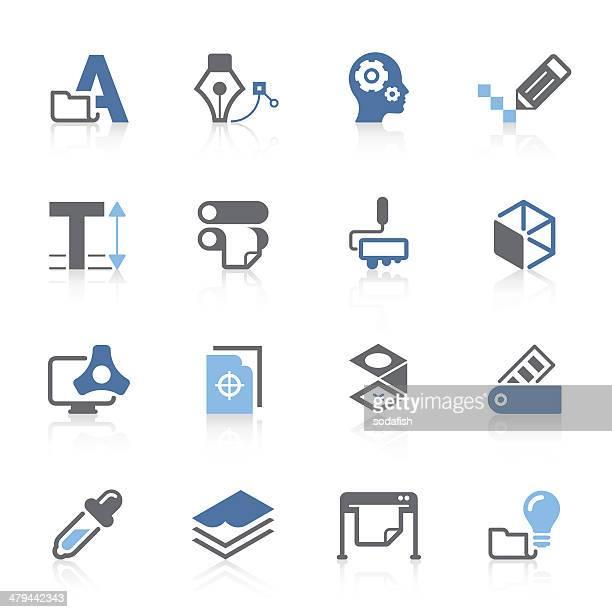 print & press icon   azur series