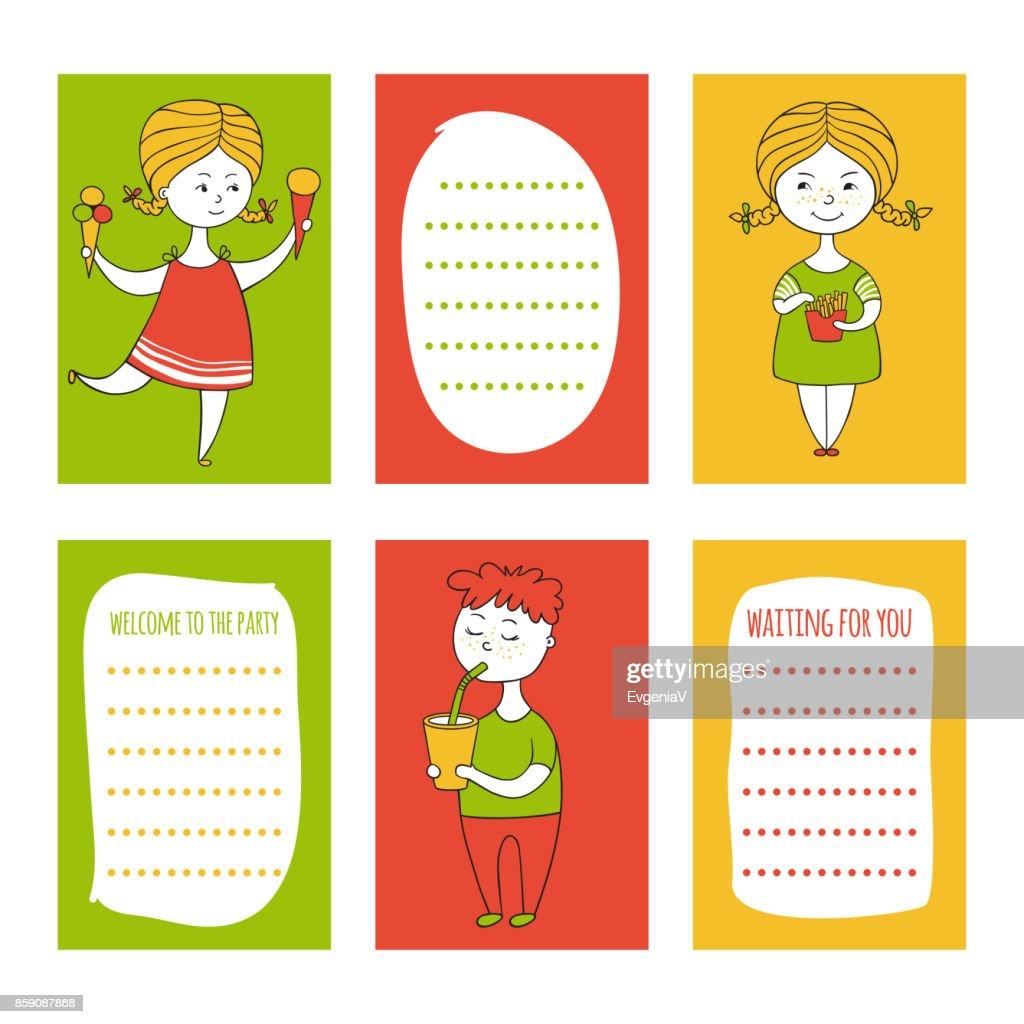 Print templates set