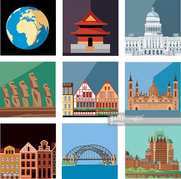 print - easter island stock illustrations, clip art, cartoons, & icons